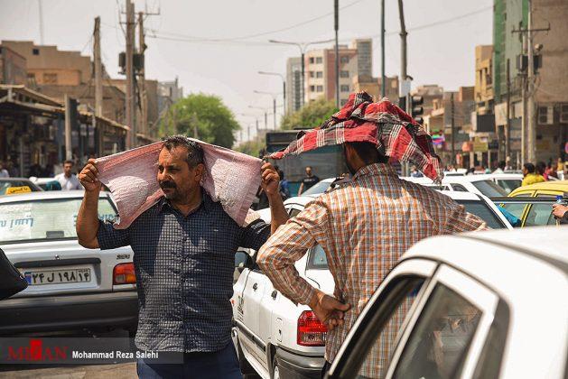 مدينة أهواز تحترق !18