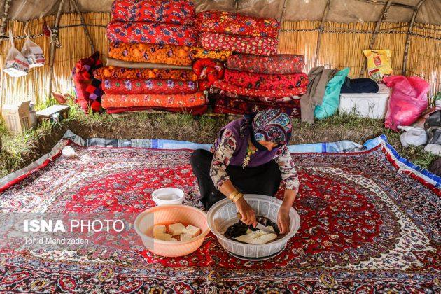 مصيف قوش غولو الساحر شمال غرب ايران 18