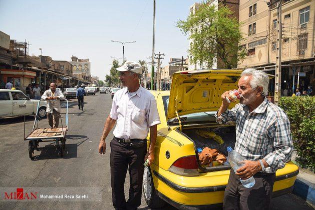 مدينة أهواز تحترق !19