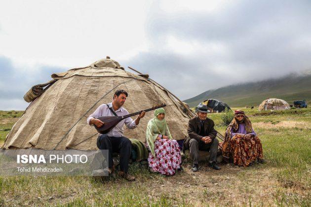 مصيف قوش غولو الساحر شمال غرب ايران 19
