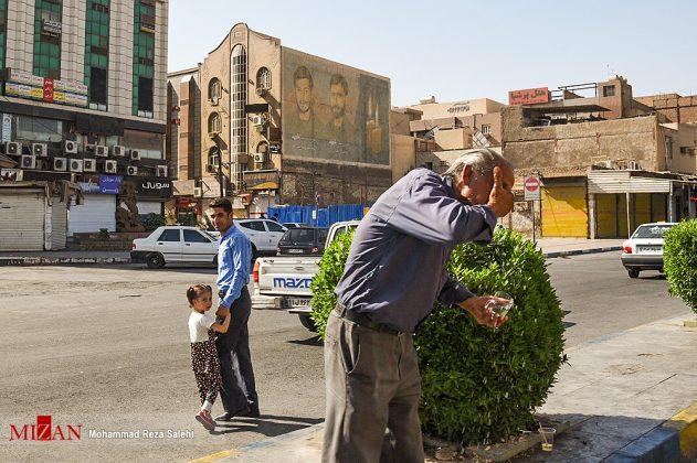 مدينة أهواز تحترق !2