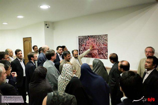 العتبة الرضوية تستضيف السفراء الاجانب لدى طهران 2