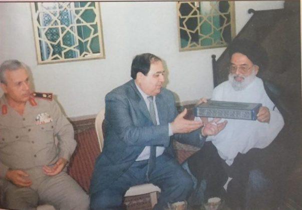 ممثل الامام الراحل بسوريا يتحدث عن لقائه بالرئيس حافظ الاسد 2