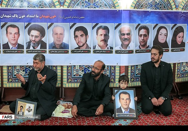 مجلس تأبين ضحايا الحادث الارهابي في البرلمان الايراني 2
