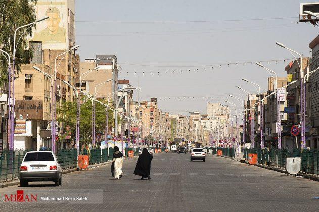 مدينة أهواز تحترق !20
