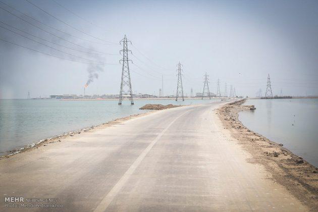 ضيوف ايران الأجانب يتفقدون مراكز تكوين العواصف الترابية20