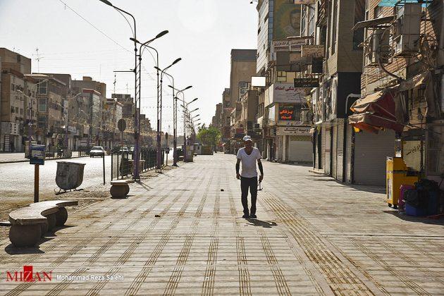 مدينة أهواز تحترق !21