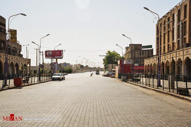 مدينة أهواز تحترق !22