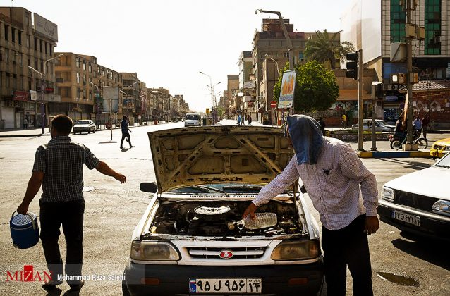 مدينة أهواز تحترق !23