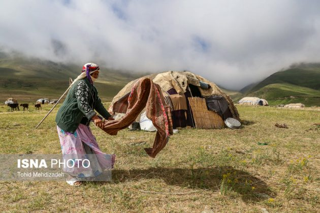مصيف قوش غولو الساحر شمال غرب ايران 24