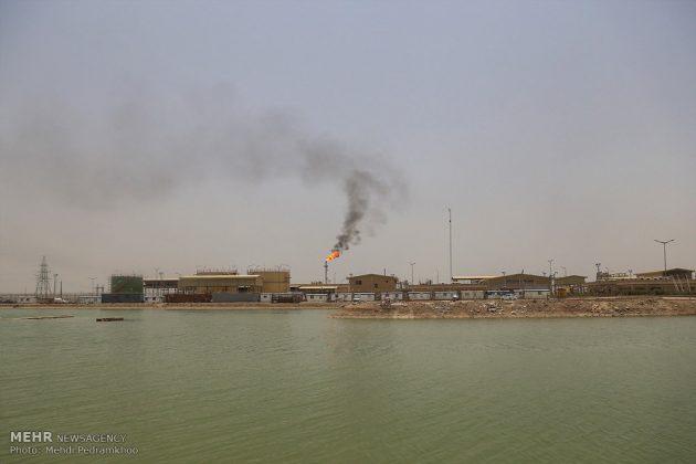 ضيوف ايران الأجانب يتفقدون مراكز تكوين العواصف الترابية24