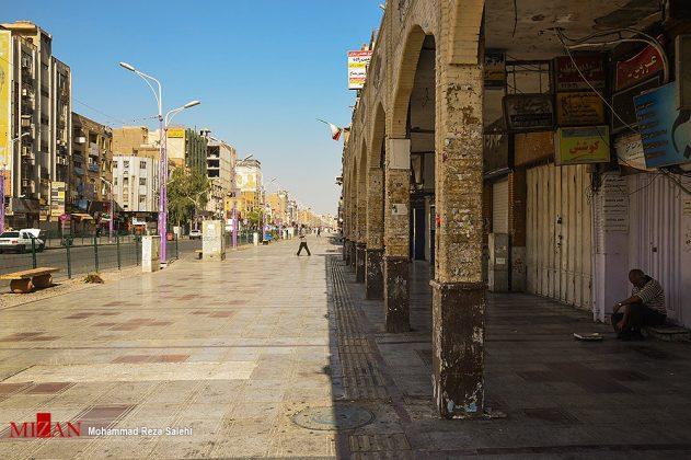مدينة أهواز تحترق !24