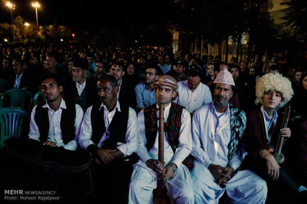 مهرجان الموسيقى الشعبية في كرمان الايرانية