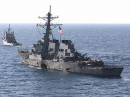 البحرية الأميركية تعلق على تصرفاتها تجاه الزوارق الإيرانية