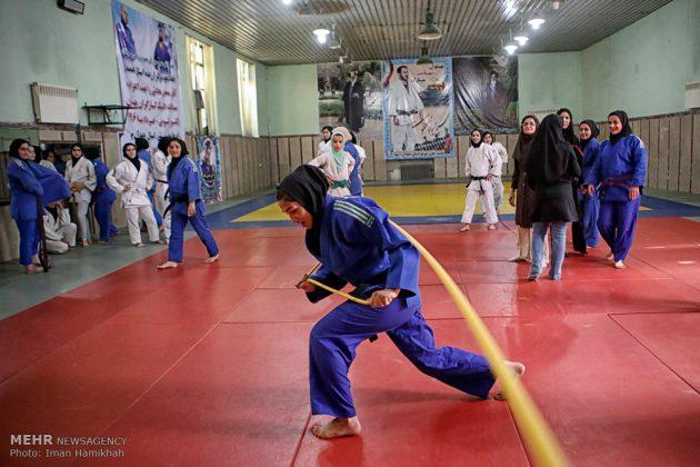 همدان .. تدريبات منتخب سيدات ايران للجودو