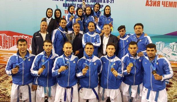 ايران تحرز لقب بطولة آسيا بالكاراتيه