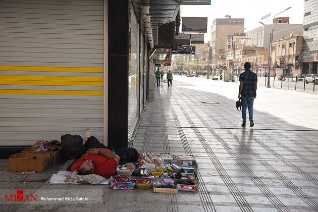 مدينة أهواز تحترق !26