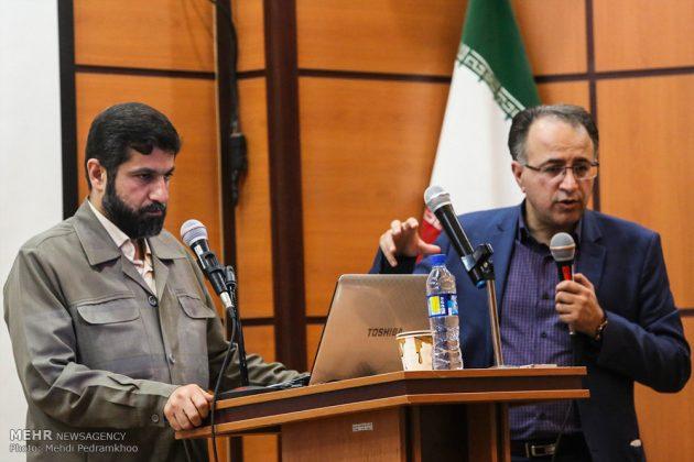 ضيوف ايران الأجانب يتفقدون مراكز تكوين العواصف الترابية27