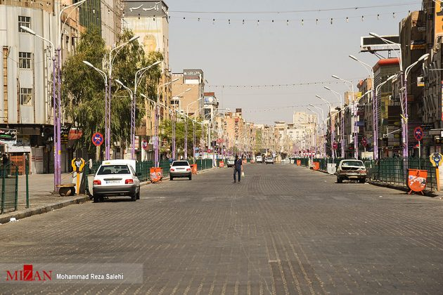 مدينة أهواز تحترق !29