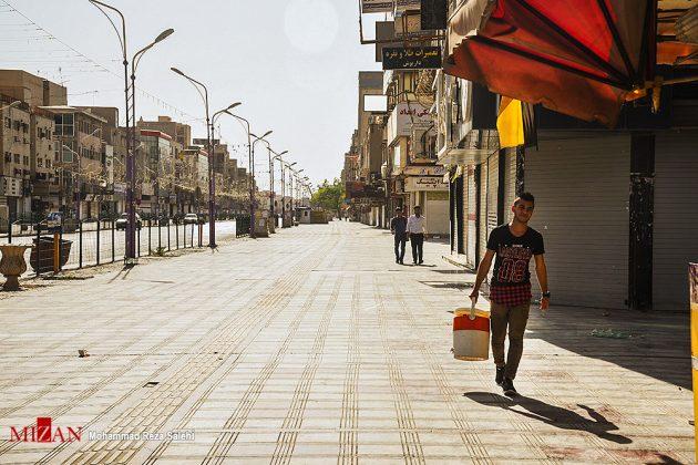 مدينة أهواز تحترق !3