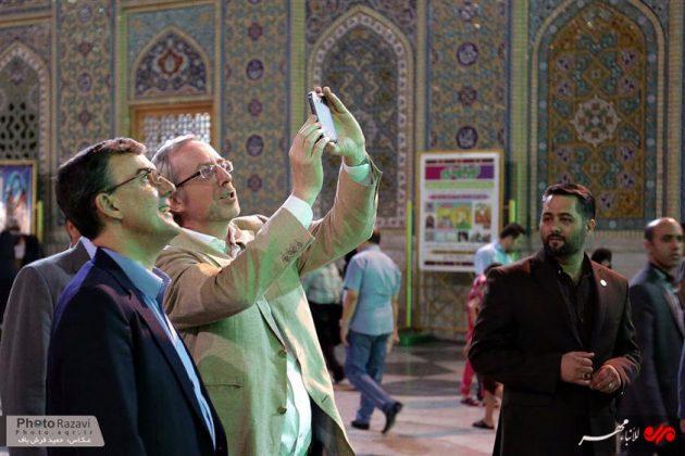 العتبة الرضوية تستضيف السفراء الاجانب لدى طهران 3