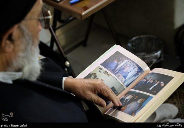 ممثل الامام الراحل بسوريا يتحدث عن لقائه بالرئيس حافظ الاسد 3