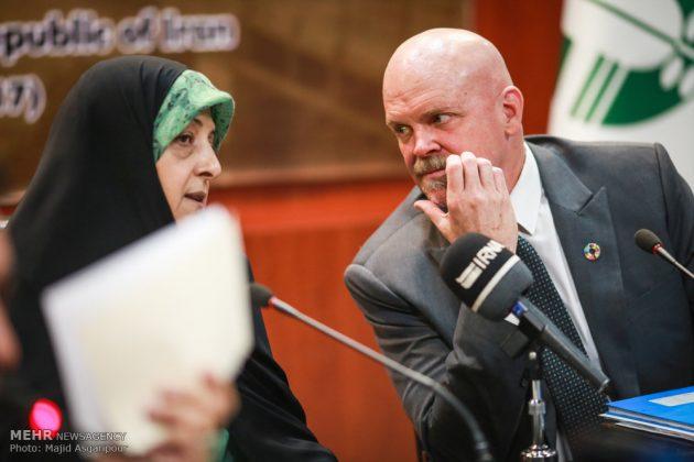 طهران .. مؤتمر مكافحة العواصف الترابية 3