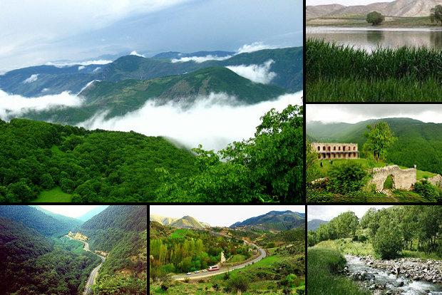 الطبيعة في ايران ..الجبل الأخضر فی آذربيجان الشرقية 3