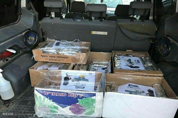 توزیع بستههای غذایی ایران در مسجدالاقصی3