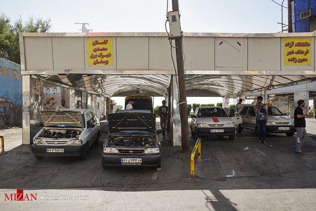 مدينة أهواز تحترق !30