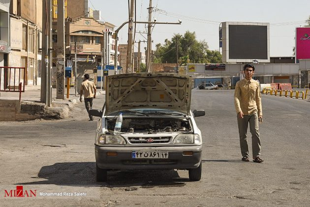مدينة أهواز تحترق !31