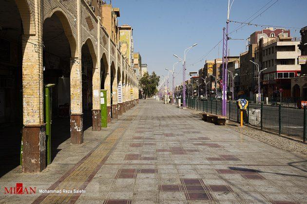 مدينة أهواز تحترق !33