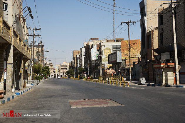 مدينة أهواز تحترق !34