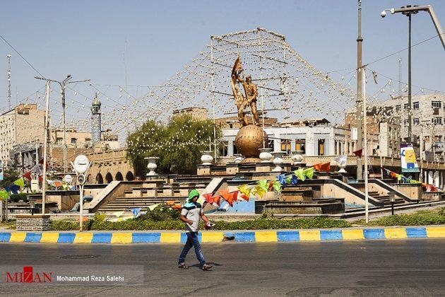 مدينة أهواز تحترق !35