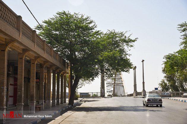 مدينة أهواز تحترق !37