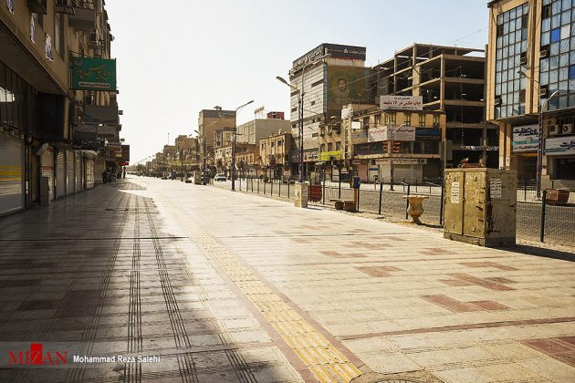 مدينة أهواز تحترق !4