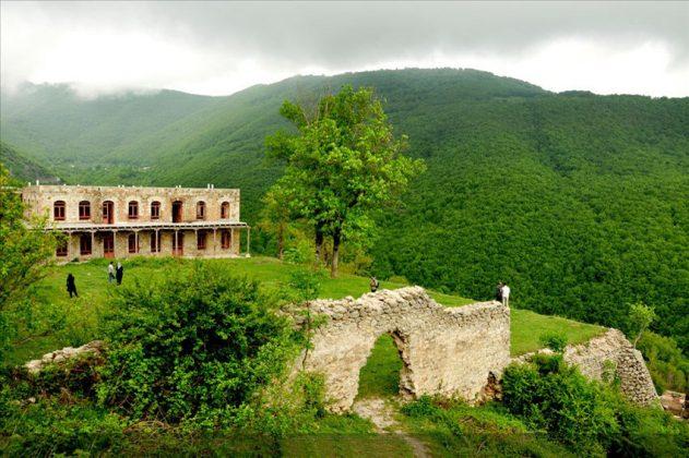 الطبيعة في ايران ..الجبل الأخضر فی آذربيجان الشرقية 4