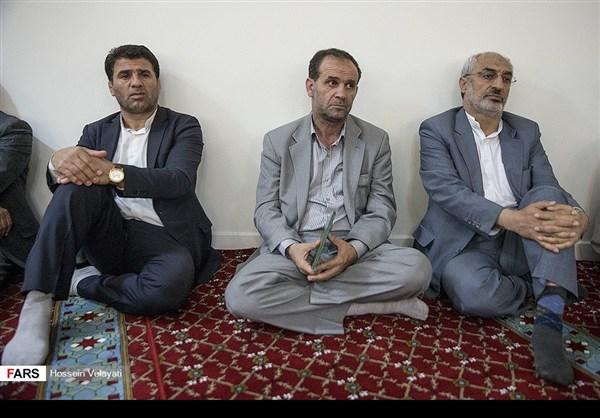 مجلس تأبين ضحايا الحادث الارهابي في البرلمان الايراني 4