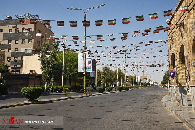 مدينة أهواز تحترق !40