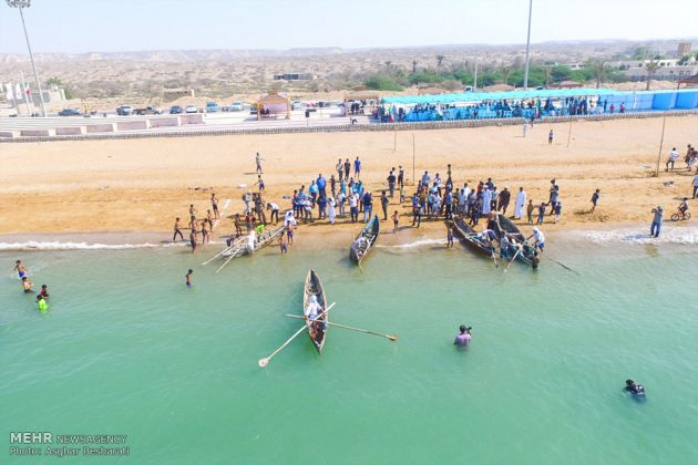 """احتفال """"نوروز الصياد"""" في جزيرة قشم الايرانية 5"""