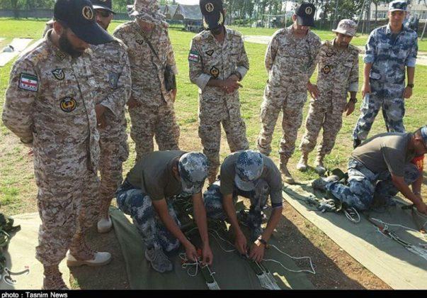 الحرس الثوري يجري تدريبات في الصين5