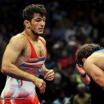 ثلاثة ايرانيين ضمن افضل المصارعين في العالم