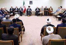 القائد الخامنئي يستقبل رئيس ومسؤولي السلطة القضائية
