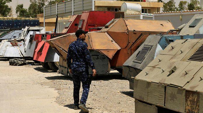 از تانک نامرئی تا بولدوزر زرهی در نمایشگاه خودروهای داعش