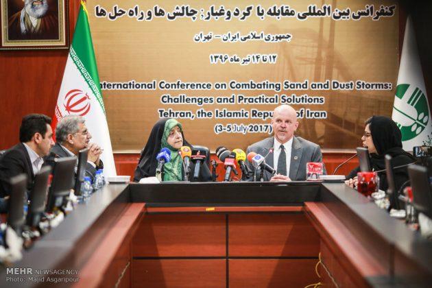 طهران .. مؤتمر مكافحة العواصف الترابية