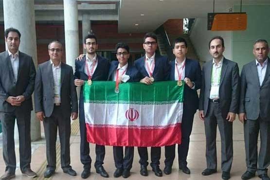 تیم المپیاد شیمی دانشآموزی ایران رتبه سوم جهان را کسب کرد