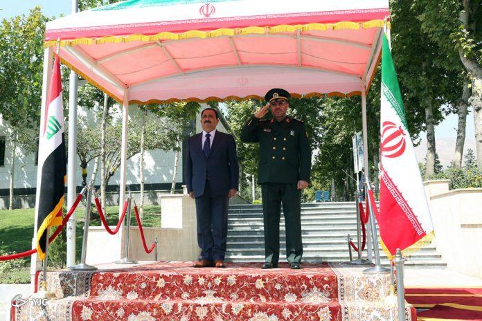 وزير الدفاع العراقي يلتقي بنظيره الايراني ويشيد بفتوى المرجعية والحشد