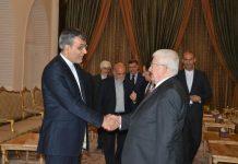 """مساعد الخارجية الايرانية """"جابري انصاري"""" يلتقي الرئيس العراقي"""