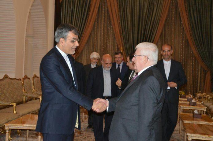 مساعد الخارجية الايرانية