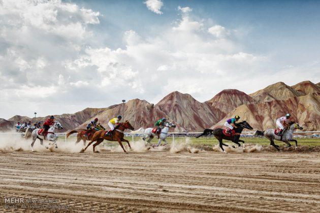 ایران .. سباق الخيل في آذربيجان الشرقية 7